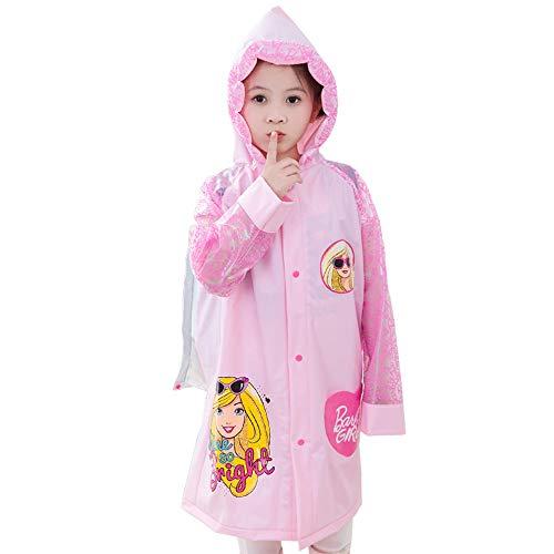 Little Train Children's Raincoat Boys And Girls Kindergarten Children's School Children's Raincoat With Schoolbag Princess Raincoat