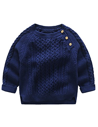 Jumpers For Boys Sweater Knitted Sweatshirt Cotton Casual Sweaters