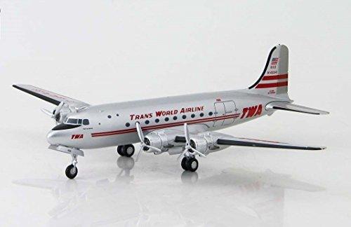 hl2024-hobbymaster-twa-dc-4-n45341-model-airplane-by-hobbymaster