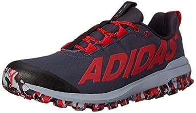 adidas Performance Men's Vigor 6 TR M Running Shoe Black / Red / Light Grey 7.5 D(M) US