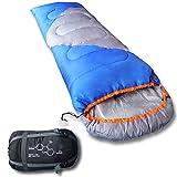 Mountaineers Outdoor Sleeping Bag, 4 Season, XL Pillow Pocket & Waterproof Outer Shell