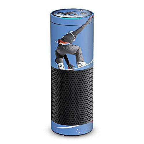 DeinDesign Amazon Echo 1. Generation Folie Skin Sticker aus Vinyl-Folie Snowboard Sprung Wintersport Echo-snowboard