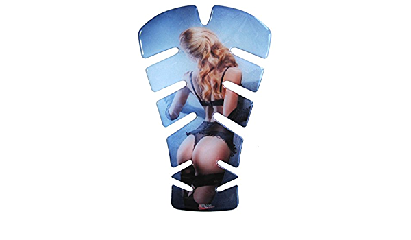 Tankpad 3d 500885 Sexy Girl Universeller Tank Schutz Passend Für Motorrad Tanks Auto