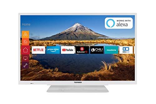 Telefunken XF32G511-W 80 cm (32 Zoll) Fernseher (Full HD, Triple Tuner, Smart TV, Prime Video)