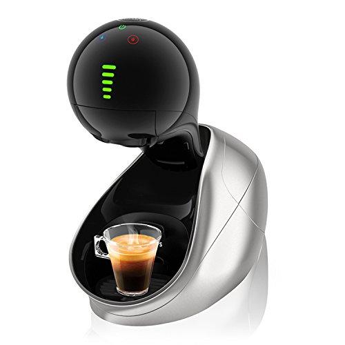 Krups Dolce Gusto KP600E Nescafe Movenza Kaffeekapselmaschine, automatisch, 15 Bar, silber