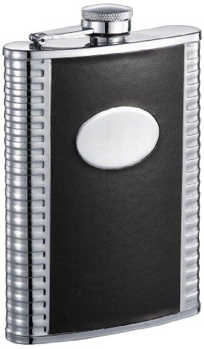 tux-deux-similpelle-nera-fiaschetta-in-acciaio-inossidabile
