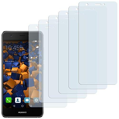 mumbi Schutzfolie kompatibel mit Huawei Nova Folie klar, Bildschirmschutzfolie (6x)