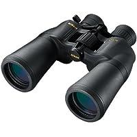 Nikon Aculon A211 10-22x50 - Binoculares (ampliación 10-22x, objetivo 50 mm), color negro