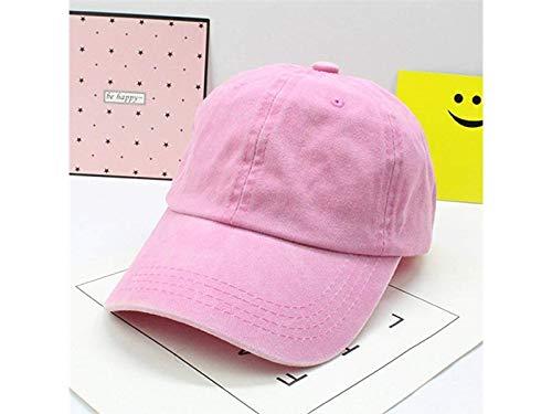 Weiche Socken Infant Cotton Sanpback Baseball Mütze Kinder Sonnenhut Visor Hut für 2-9 Jahre alt (Pink) Neugeborene Socken