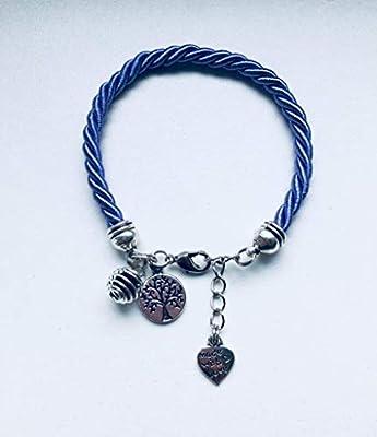 Bracelet violet avec une perle à parfumer, bijoux, bracelet, porte bonheur, bijou, bracelets, bijoux cadeaux, bracelet violet, bijou femme