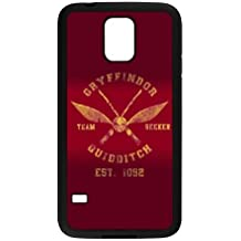 Samsung Galaxy S5 Cell Phone Case Black Harry Potter alma mater Gryffindor Custom Case Cover WDGI02237