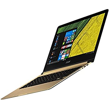 Acer Swift 7 SF713-51 13.3-Inch Notebook - (Black/Gold) (Intel Core i5-7Y54 Processor, 8 GB RAM, 256 GB SDD, Windows 10)