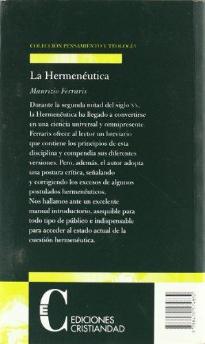 La hermenéutica