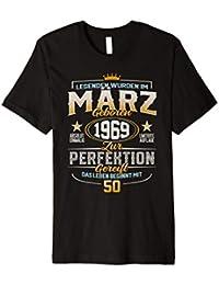 50. Geburtstag 50 Jahre Jahrgang 1969 März T-Shirt
