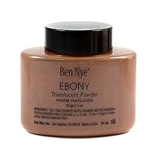 Ben Nye Ebony Face Powder - 1.75oz TP by Ben Nye