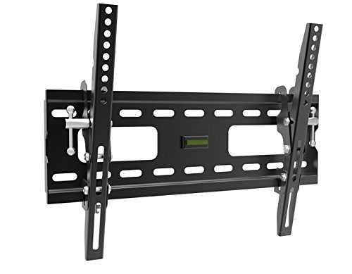 Intecbrackets® - Strongest 80 Kgs universal fit tilt TV bracket fully adjustable for all makes of TV 23 26 27 32 39 40 includes all fittings and a Maximum fitting size of 400mm x 300mm