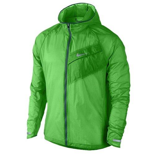 Nike Herren Oberkörper Bekleidung Impossibly Light Jacket, Grün, XL, 620057-361