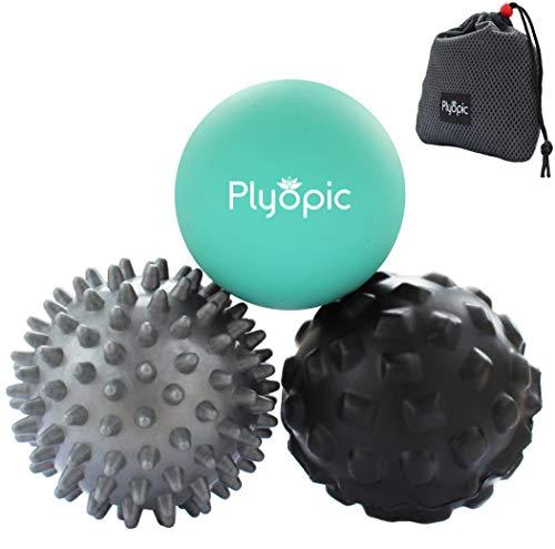 Plyopic Bolas Masaje - Set 3 Massage Balls - Automasaje