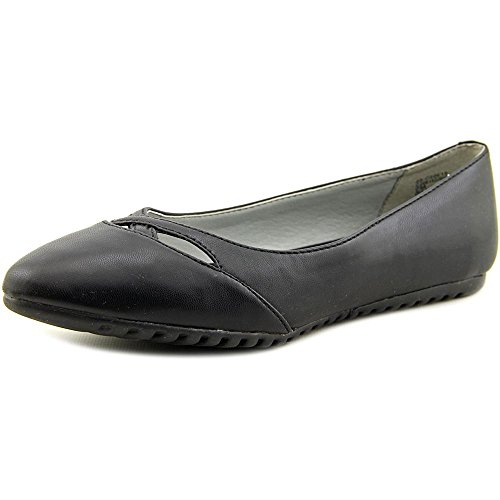 White Mountain Shea Synthétique Chaussure Plate Black