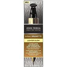 John Frieda Brilliant Brunette Lighter Glow Aufhellende Anwendung zum Ausspülen, 4er Pack (4 x 34 ml)