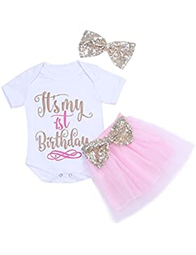 Freebily Baby Mädchen Kleidung S