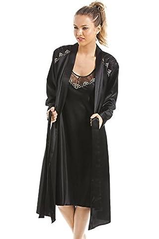 Camille - Ensemble chemise de nuit et robe de chambre