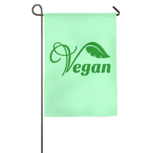 Summer Cool Vegan Home & Garden Flaggen, dekorative House Flaggen – 12 * 18/45,7 x 68,6 cm, Polyester, weiß, 30*46 cm