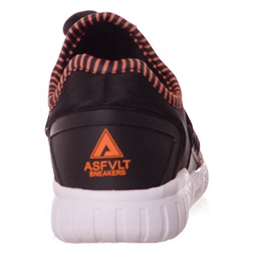 Asfvlt - Area Lo, Scarpe da ginnastica Unisex – Adulto Black/Nectarine