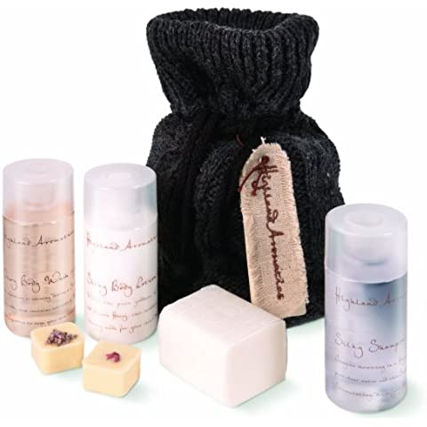 Scottish Fine Soaps Highland Aromatics Woolly Bathers Bag Gift