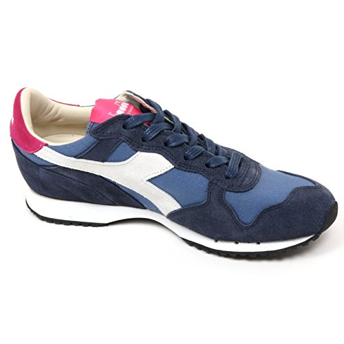 C9040 sneaker donna DIADORA HERITAGE TRIDENT blu shoe woman Blu
