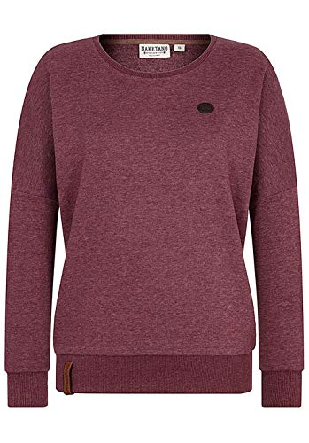 Naketano Damen Sweatshirt Bordeaux (502) M