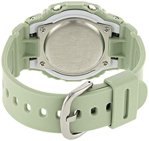 BABY-G Damen Digital Quarz Uhr mit Harz Armband BLX-560-3ER