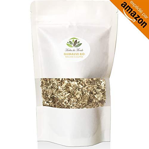 Natürlicher Eibisch-Tee - Wurzel-Schnitt - Infusion Detox-Verdauung entlastet Husten - 70g -