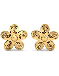 Stylori Italian Collection 18k (750) Yellow Gold Stud Earrings