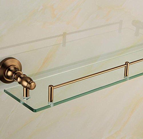 XMJ Bagno mensola del bagno mensola di vetro accessori per il (Nutriente Lavare A Mano)