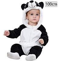 Baby Schlafsack mit F/ü/ßen M/ädchen und Jungen Cartoon Schlafsack Vier Jahreszeiten Unisex Winter Hooded Romper Jumpsuit Baby Strampler Pyjamas