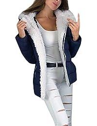MERICAL Giacca da Donna Plus in Velluto Giacca Casual Cardigan con Cappuccio Giacca in Cotone Abbigliamento