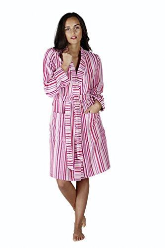 Egeria Caitlyn Ladies Cotton Long Dressing Gown - 41zWGTSCpvL - Egeria Caitlyn Ladies Cotton Long Dressing Gown