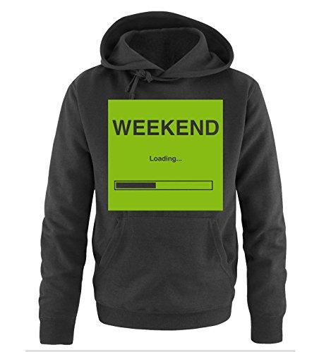 Comedy Shirts -  Felpa con cappuccio  - Maniche lunghe  - Uomo Black / Green
