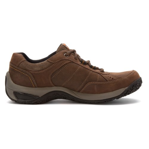 Dunham Men's Lexington Mudguard Oxford Dark Brown Oxford 10 2E Dark Brown