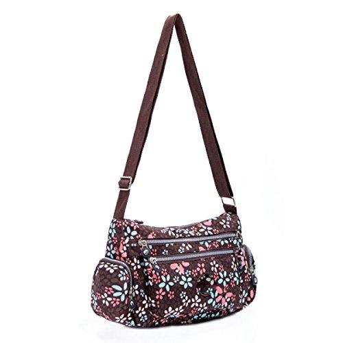 Ms. Messenger Bag Femminile BUKUANG Oxford Di Nylon Piccola Borsa Borsa Mamma Di Mezza Età Borsa Da Viaggio Di Tela,P R