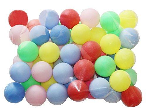 Bier Ping Pong Bälle sortiert Farbe Tischtennisbälle, (50Stück)