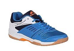 Nivia Gel Verdict Badminton Shoes (Blue, White) (6)