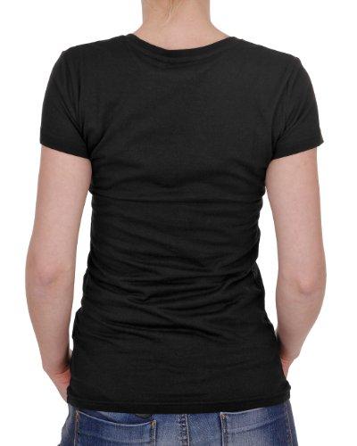 Adidas Glossy Trefoil W T-shirt Noir