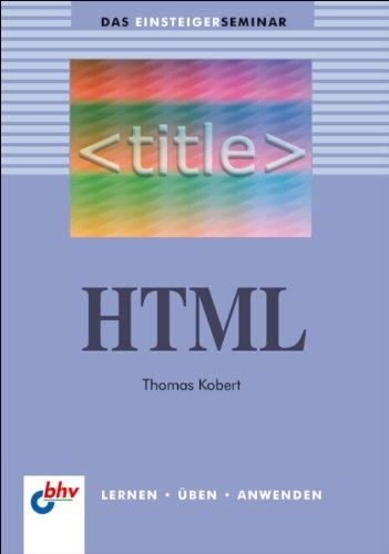 HTML (bhv Einsteigerseminar)
