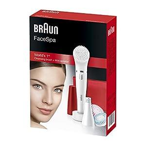 41zWIwkqOSL. SS300  - Braun-Face-852-Edicin-Rub-Cepillo-de-limpieza-facial-elctrico-y-depiladora-facial-con-4-accesorios