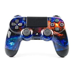 PlayStation 4 Pro Controller mit Paddles und Smart-Trigger – Paddles X+O DarkMatter Design – PS4 Pro Slim DualShock 4 PlayStation 4 Wireless Controller
