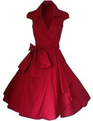 Robe de Soiree ,Vintage Rockabilly style,Retro Années 50, Jupe, Swing,Pin up ,Parfaite Pour Soiree Dansante, Taille 34-54