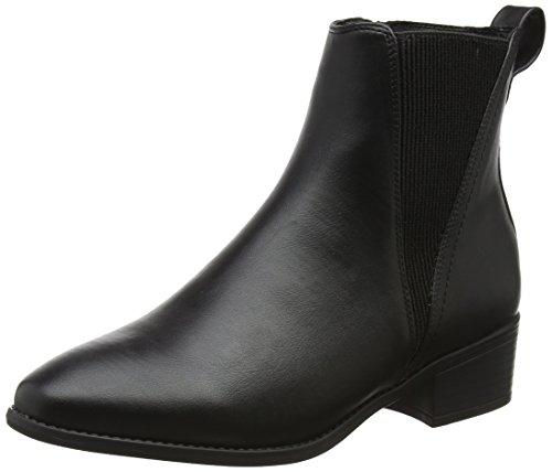 La Testa Ai Piedi Damen Peaky Chelsea Boots Schwarz (schwarz)