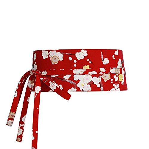 Fancy Pumpkin Giacca giapponese Yukata Kimono Robe Obi Cintura Harajuku Cintura # 10